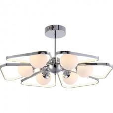 Люстра потолочная LED 48W, 4000K + E14 6*40W