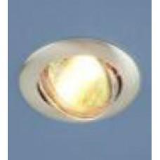 104S MR16 SS сатин серебро (брак покрытия)