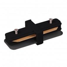 TRC-1-1-I-BK / Коннектор прямой для однофазного шинопровода (черный)
