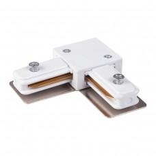 TRC-1-1-L-WH / Коннектор угловой для однофазного шинопровода (белый)