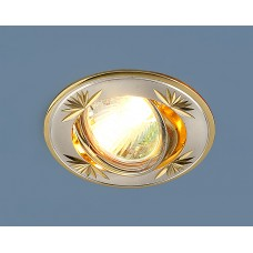 104A MR16 SS/GD сатин серебро/золото