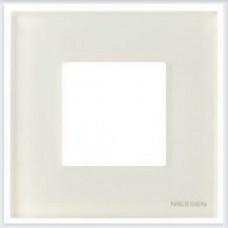 Рамки zenit стекло белое