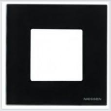Рамки zenit стекло черное