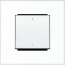 ABB Niessen Клавиша для 1-клав. мех. с символом серия SKY цвет альпийский белый - 8501.2 BL