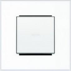 ABB Niessen Клавиша для 1-клав. мех. с линзой серия SKY цвет альпийский белый - 8501.3 BL