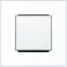 ABB Niessen Клавиша для 1-клав. мех. с символом серия SKY цвет альпийский белый - 8504.2 BL