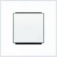 ABB Niessen Клавиша для 1-клав. мех. с символом и линзой серия SKY цвет альпийский белый - 8504.4 BL