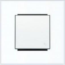 ABB Niessen Клавиша для 1-клав. мех. с символом серия SKY цвет альпийский белый - 8504 BL