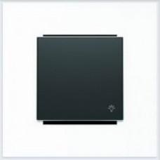 ABB Niessen Клавиша для 1-клав. мех. с символом серия SKY цвет чёрный бархат - 8504.2 NS