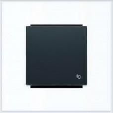 ABB Niessen Клавиша для 1-клав. мех. с символом серия SKY цвет чёрный бархат - 8504 NS
