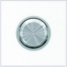 ABB Niessen Клавиша для 1-клавишных механизмов с линзой серия SKY Moon кольцо хром - 8601.3 CR