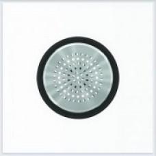ABB Niessen Накладка для механизма звонка серия SKY Moon кольцо чёрное стекло - 8629 CN