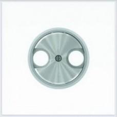 ABB Niessen Накладка для TV-R розетки серия SKY Moon кольцо хром - 8650 CR