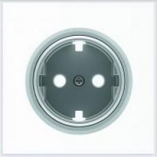 ABB Niessen Накладка для розетки серия SKY Moon кольцо хром - 8688.9 CR