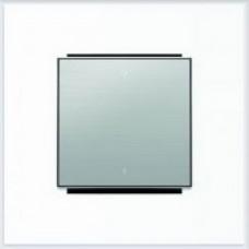 ABB Niessen Клавиша для 1-клав. мех. с символом серия SKY цвет нержавеющая сталь - 8501.2 AI