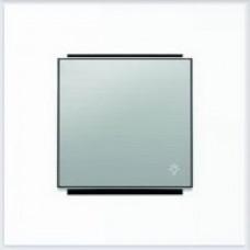 ABB Niessen Клавиша для 1-клав. мех. с символом серия SKY цвет нержавеющая сталь - 8504.2 AI
