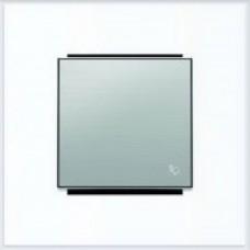 ABB Niessen Клавиша для 1-клав. мех. с символом серия SKY цвет нержавеющая сталь - 8504 AI
