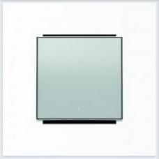 ABB Niessen Клавиша для 1-клав. мех. с символом серия SKY цвет серебристый алюминий - 8501.2 PL