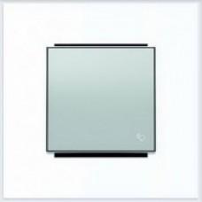 ABB Niessen Клавиша для 1-клав. мех. с символом серия SKY цвет серебристый алюминий - 8504 PL
