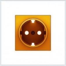 ABB Niessen Накладка для розетки серия SKY цвет оранжевый - 8588 NA