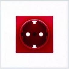 ABB Niessen Накладка для розетки серия SKY цвет красный - 8588 RJ
