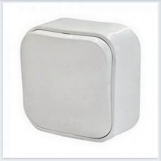 Кнопка 1-клавишная 6А цвет белый Legrand Quteo Арт. 782205