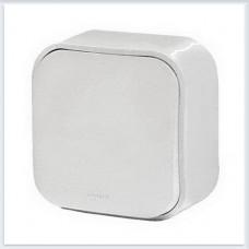 Переключатель 1-клавишный 10А цвет белый Legrand Quteo Арт. 782204