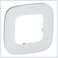 Valena Allure Рамка 1-ая Белое стекло, 755541