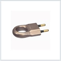 Элиум Бронза Вилка 2Р, 6А, пластик - с кольцом Legrand Арт. 50164