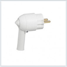 Элиум Белый Вилка 2Р+Е, 16А, с рычагом, пластик Legrand Арт. 50175