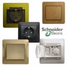 Розетки и выключатели Schneider-Electric Glossa