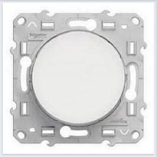 Выключатель 1-клавишный Белый Schneider-Electric Коллекция Odace - S52R201