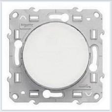 Выключатель кнопочный Белый Schneider-Electric Коллекция Odace - S52R206