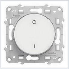 Выключатель 2-полюсный 16А Белый Schneider-Electric Коллекция Odace - S52R262