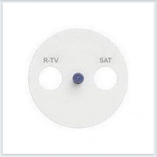 Накладка R-TV/SAT Белый Schneider-Electric Коллекция Odace - S52R441