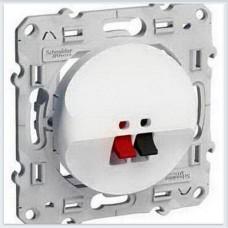 Аудиорозетка Белый Schneider-Electric Коллекция Odace - S52R487