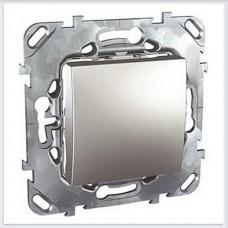 Unica Top Алюминий Выключатель 1-клавишный - MGU5.201.30ZD