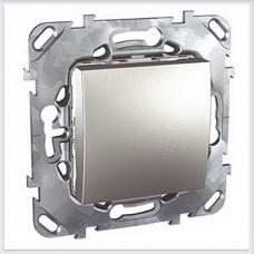 Unica Top Алюминий Переключатель 1-клавишный - MGU5.203.30ZD