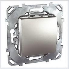 Unica Top Алюминий Переключатель перекрестный 1-клавишный - MGU5.205.30ZD