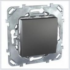Unica Top Графит Переключатель перекрестный 1-клавишный - MGU5.205.12ZD