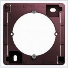 Коробка для наружного монтажа Glossa Баклажановый GSL001100