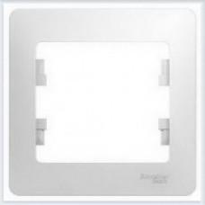 Рамка 1-я Glossa Белый GSL000101