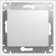 Выключатель 1-клавишный Glossa Белый GSL000111