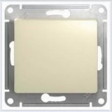 Выключатель 1-клавишный Glossa Бежевый GSL000211