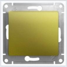 Выключатель 1-клавишный, механизм Glossa Фисташковый GSL001011