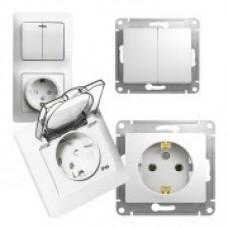 Schneider-Electric Glossa Белый