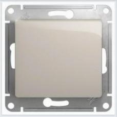 Выключатель 1-клавишный, механизманизм, сх.1 Glossa Молочный GSL000911