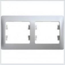 Рамка 2-я, горизонтальная Glossa Перламутр GSL000602
