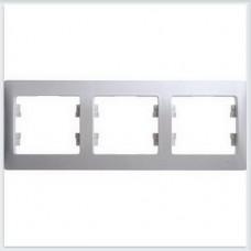 Рамка 3-я, горизонтальная Glossa Перламутр GSL000603