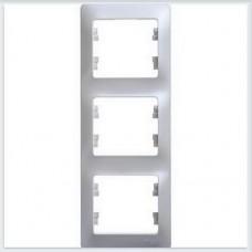 Рамка 3-я, вертикальная Glossa Перламутр GSL000607